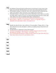 GEOG 1111 Exam 1 Study Guide - Answers.docx