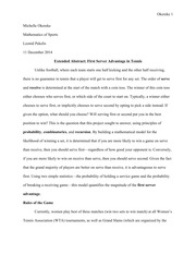 Sample Project Paper 15