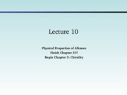 Lecture 10- Chirality