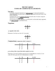 Truth Tables Compounds types of compound statements.pdf