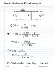Fourier Series and Circuit Analysis