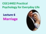 Lecture 6_Marriage