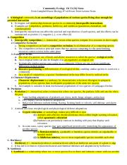 Ch 53 (54) Community Ecology Notes.doc