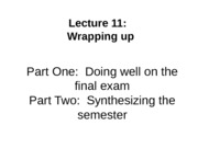 lecture 11_wrapping up