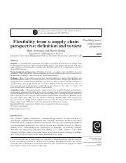Flexibility from a supply chain perspective- definition and review.pdf
