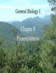 Chapter 8 Photosynthesis(2)