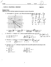 Transformations Practice Test