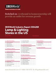 OD4269 Lamp & Lighting Stores Industry Report