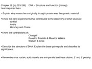 BB lecture 11-5 DNA history & structure