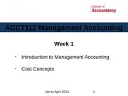 ACCT112 Wk1 Intro_CostConcepts - Jan2013-LMS