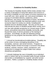 sds_guidelines_disability_ studies_ 8.17.07.doc