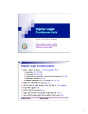 3 - DigitalLogicFundamentals