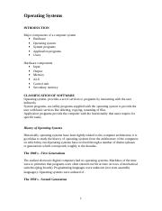 Operating_System lecture notes