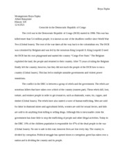 Extra Credit Research Paper