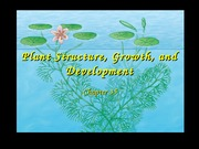 35-Plant Structure, Growth, and Development