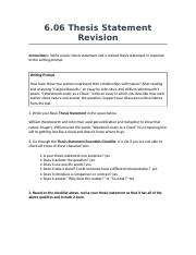 12DMK26.06ThesisStatementRevision.rtf