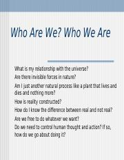 Chapter 2 Who We Are(1).ppt
