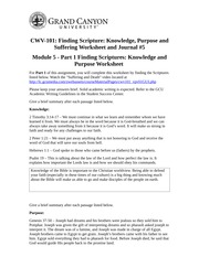 CWV101.RM5KnowledgePurposeSufferingWorksheetJournal5_Student_01-07-13