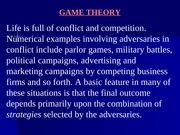 L24_Introduction to Game theory - Graphical solutions and solutions by LP techniques