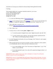Instructions for Accessing Course Material for Advanced Report Writing.docx