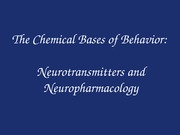 BFP Lecture 9 - Neurochemistry A