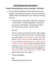 Email writing exercises.pdf