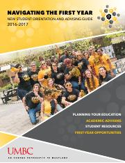 Course Catalog from orientation
