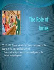 The Role of Juries Presentation.pptx