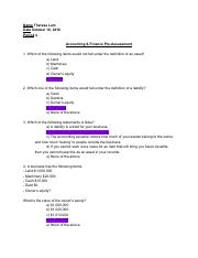 Accounting & Finance Pre Assessment (edit) - Theresa Lam.pdf