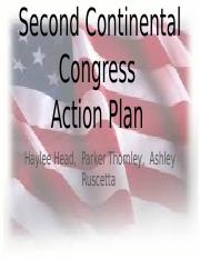 Second Continental Congress Action Plan.pptx
