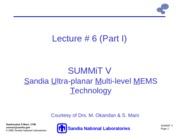 Lecture+_06+_Part+I_+Surface+Micromachining-SummitV+I