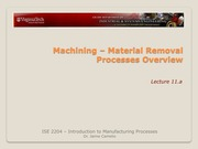 Lecture+11a+-+Machinig+Overview