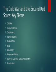 Week 5-Lecture 1-Cold War_Red Scare.pptx