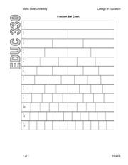 fraction bar worksheet. Black Bedroom Furniture Sets. Home Design Ideas