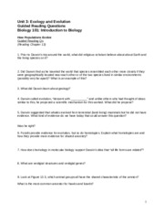 Guided Reading Questions Unit 3 Fall 2015