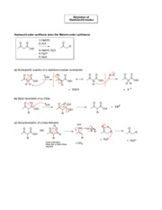 CHEM 334 Acetoacid Ester and Malonic Ester Synthesis(1)