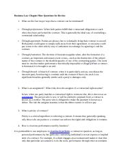 Business Law Review Chapter 9.docx