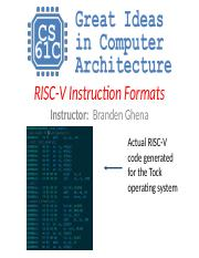 CS 61C : machine structure - UC Berkeley - Course Hero