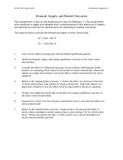160_Assgn 2_Demand, Supply, Markets (1).docx