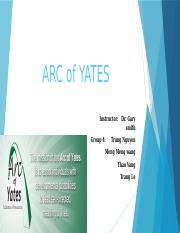 presentation -ARC of YATES.pptx