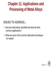 5Application and processing of alloy