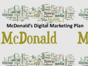 McDonald's digital marketing plan (Presentation)
