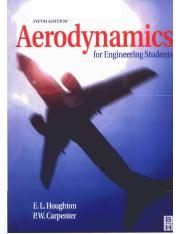 E. L. Houghton, Aerodynamics for Engineering Students, 5th Ed.