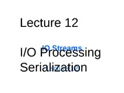 Lecture12(binary files, IO streams)
