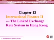 Ch 13 Linked exchange rate system