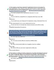 CLC005 Simplified Acquisition Procedures Exam