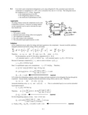 Thermal and Fluids Solutions ch8