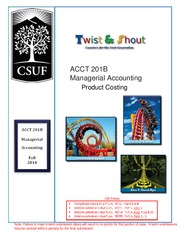 CASE # 02 - Product Costing
