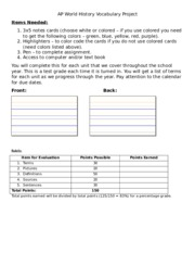 apush chapter 41 vocabulary essay The test will be composed of 40 multiple choice questions and 3 essays (answer one) early (late 1400s) apush-chapter 1-6 study questions 1) early.