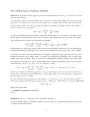 STATS 110 Fall 2014 Homework 11 Solutions
